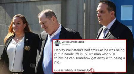 'Harvey Weinstein, we got you': Hollywood producer out on $1m bail, but Twitterati happy to see him under custody