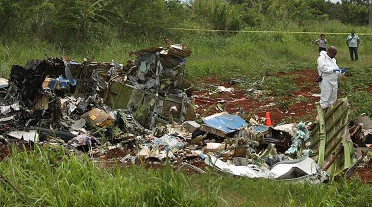 cuba, cuba plane crash, second black box found, world news, indian express