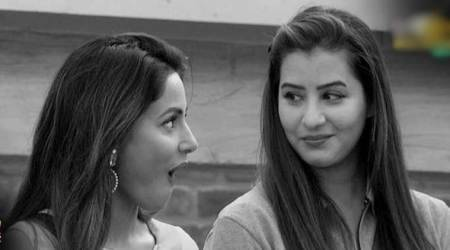 shilpa shinde, hina khan fights