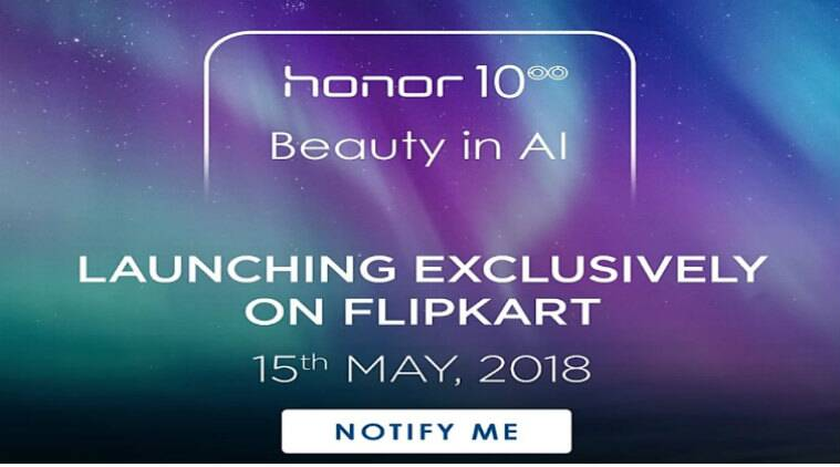 Honor 10, Honor 10 Flipkart, Honor 10 price in India, Honor 10 launch in India, Honor 10 specifications, Honor 10 features, Honor 10 vs OnePlus 6, Honor 10 notify Me Flipkart, Android