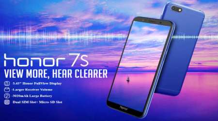 Honor 7S with 18:9 display, 5MP selfie camera launched: Specifications, features