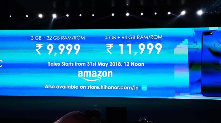 Honor 7A, Honor 7C India launch Highlights: Price starts at
