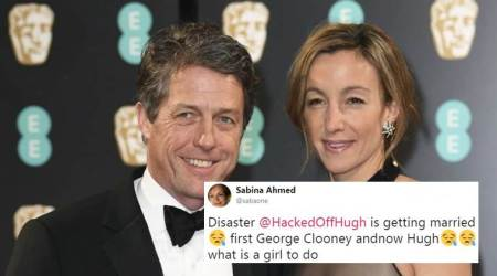 Hugh Grant marries girlfriend Anna Eberstein, Twitterati say they are 'shook'
