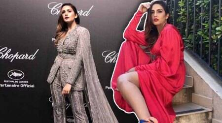 Cannes 2018: Huma Qureshi goes from bold red to shimmery beige on Day3