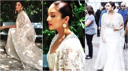 Cannes 2018: Huma Qureshi is 'sheer' loveliness in a Varun Bahl outfit; seepics