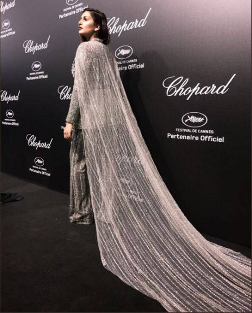 huma qureshi at cannes film festival 2018