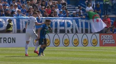 WATCH: Zlatan Ibrahimovic sent off in MLS match for slapping opponent in thehead