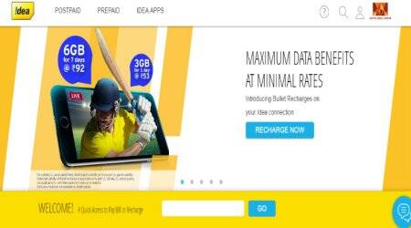 Idea Rs 92, Rs 53 prepaid bullet recharge packs announced; offer 6GB and 3GB data