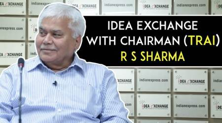 Idea Exchange With TRAI chairman R S Sharma