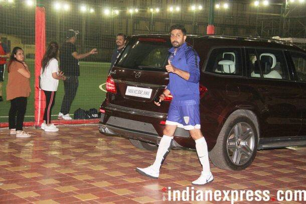 abhishek bachchan football