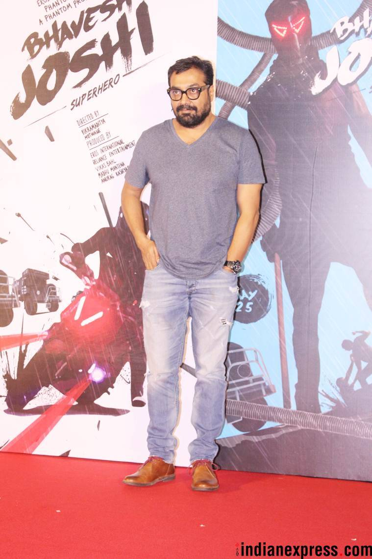 Anurag Kashyap at Bhavesh Joshi trailer launch