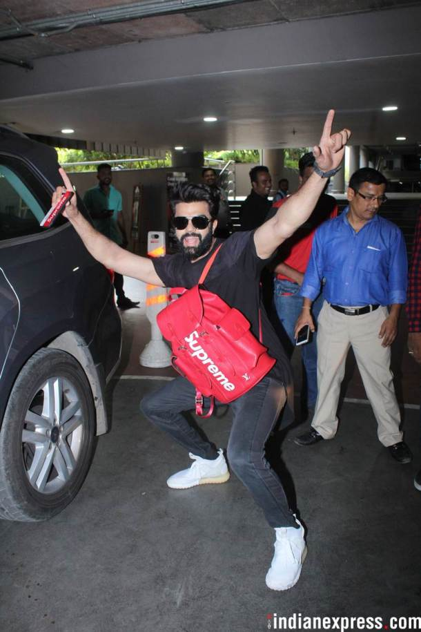 Maniesh Paul was also spotted at the airport