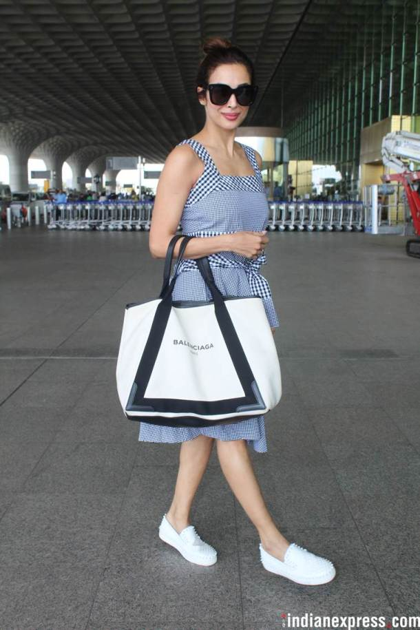 malaika arora at airport