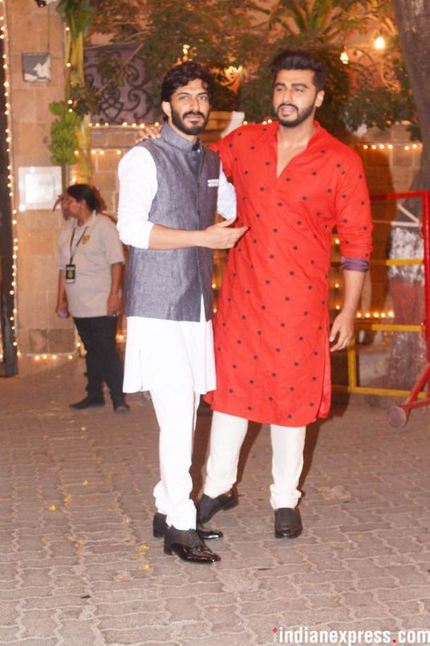 Arjun Kapoor with Harshvardhan kapoor