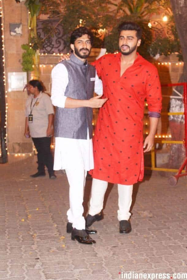 Arjun Kapoor with Harshvardhan kapoor