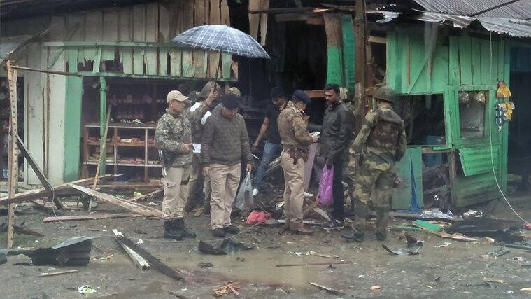 Two BSF jawans killed, three civilians injured in IED blast in Imphal
