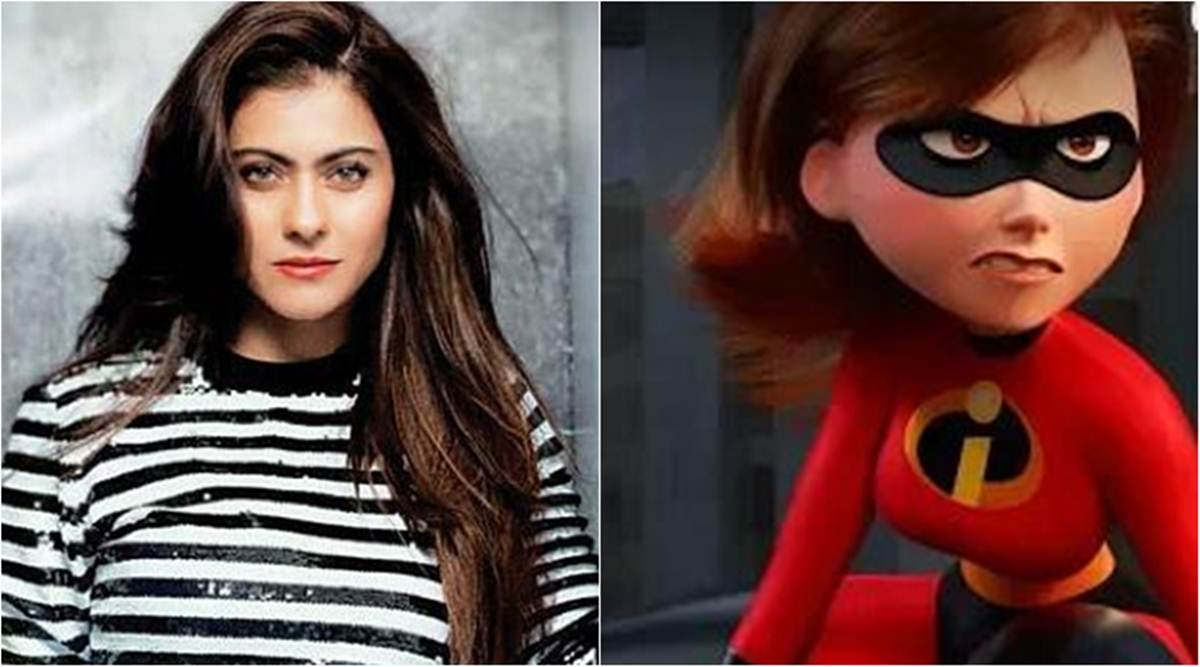 Kajol To Lend Voice To Elastigirl For The Incredibles 2 Hindi Version Entertainment News The Indian Express
