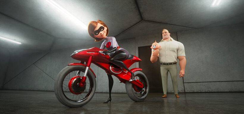 the incredibles 2 characters