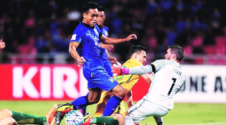 Asia Cup, Asia Cup news, Asia Cup schedule, Asia Cup updates, India, India football, India vs Thailand, sports news, football, Indian Express