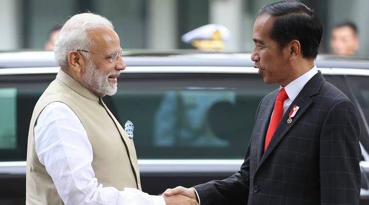 PM Modi arrives in Indonesia for his three-nation tour in a bid to boost Act East Policy