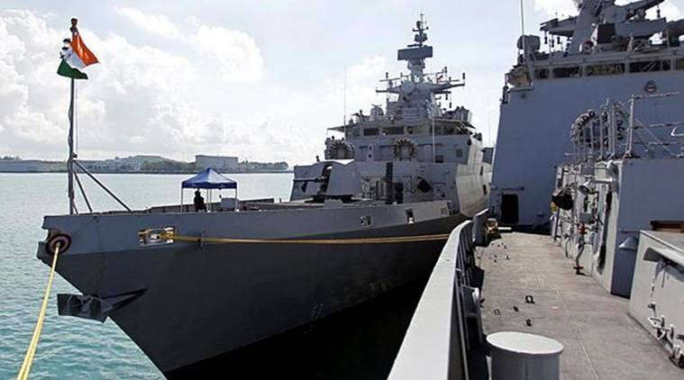 The Indian Navy said its ship Sumedha, a naval offshore patrol vessel has been deployed to undertake the joint surveillance of EEZ of Maldives from May 9 to 17. (Representational)
