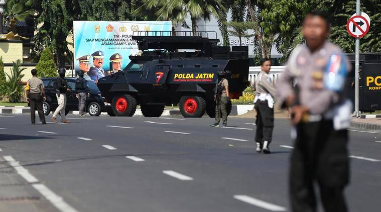 Indonesia: Suicide bombers strike police headquarters in Surabaya; one killed