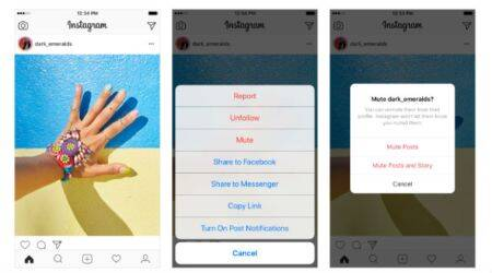 Instagram lets users mute people without unfollowing them