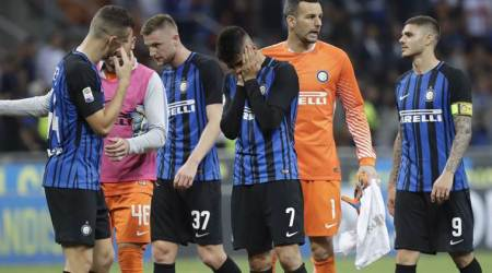 Inter Milan look set to miss out on Champions League after 2-1 loss to Sassuolo