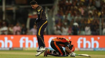 IPL 2018 Live Cricket Score, SRH vs KKR Live Score: Rashid Khan's 34 run cameo takes SRH to 174/7 against KKR