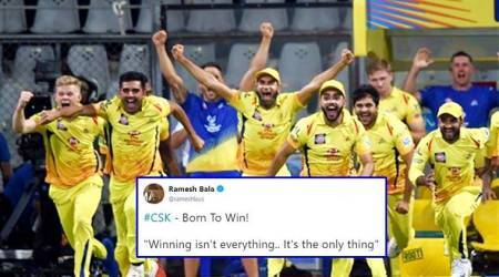 IPL 2018 Final social media highlights: CSK wins IPL for the THIRD time; Twitterati jump out ofjoy