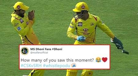 IPL 2018, CSK vs SRH, MI vs RR: Dhoni's dummy throw at Jadeja leads the buzz on the Internet after the matches