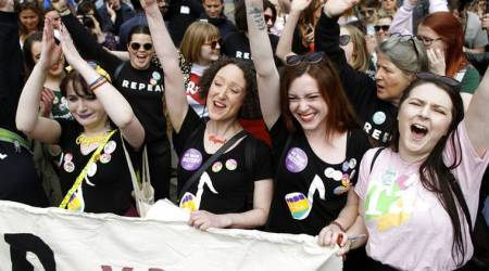 Ireland votes to liberalise abortion laws with 66 per cent infavour