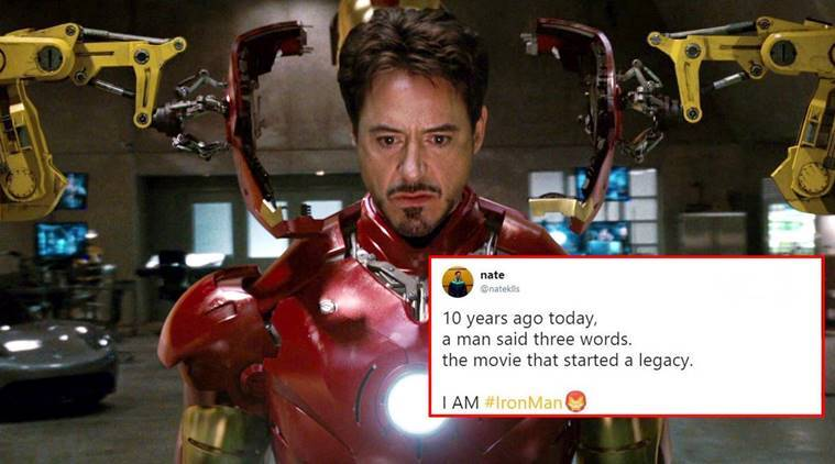 10 years of iron man netizens recall how robert downey jr aka tony stark became their - Iron man 1 images ...