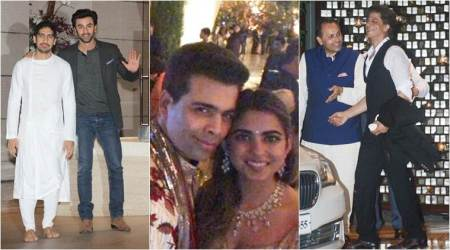 Isha Ambani and Anand Piramal engagement party: Ranbir, SRK, Aamir and others shower blessings on the couple