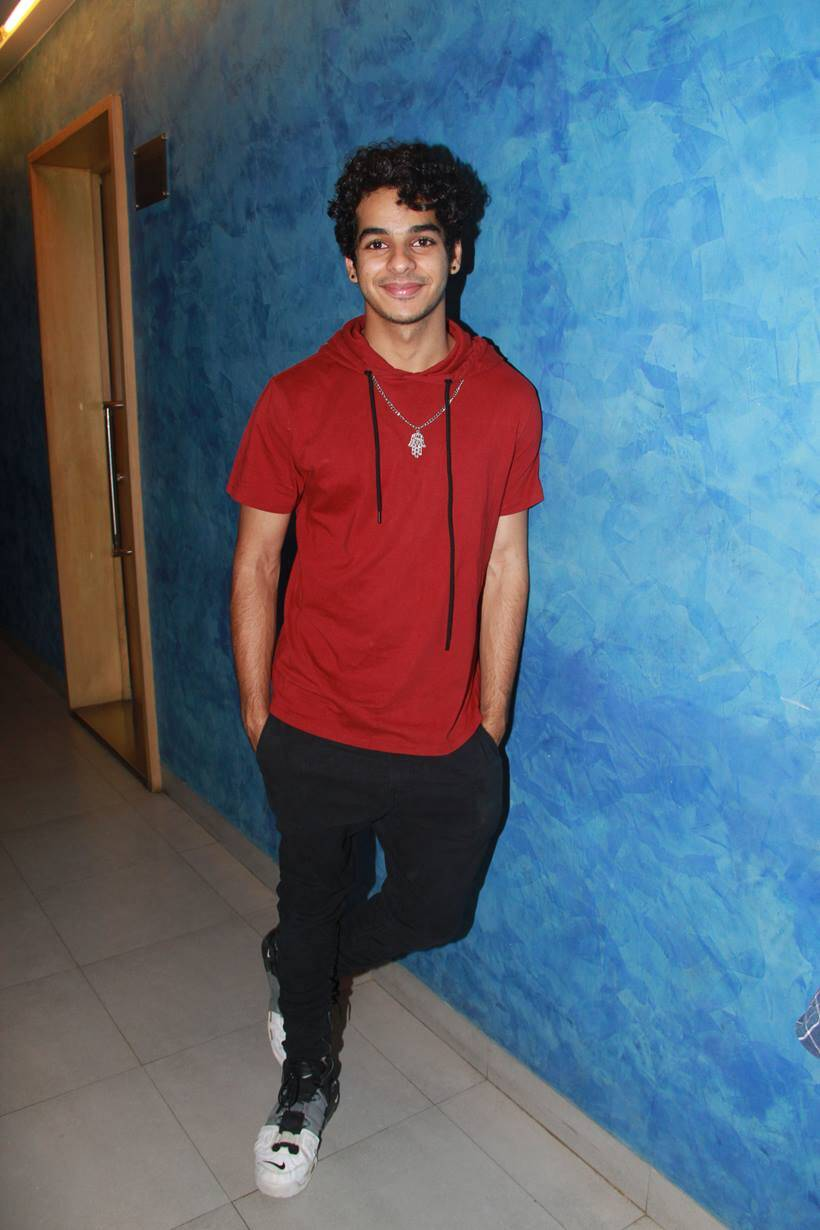 ishaan khatter watches 102 not out film