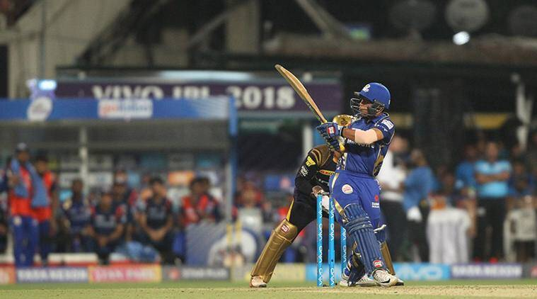 Ishan Kishan scored 18 balls fifty against Kolkata Knight Riders in Kolkata. (Photo Source - IANS)