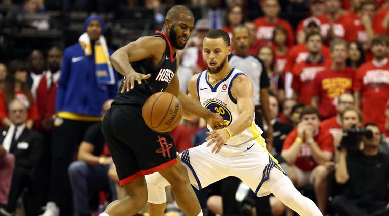 Klay Thompson, Andre Iguodala questionable for Warriors-Rockets Game 5