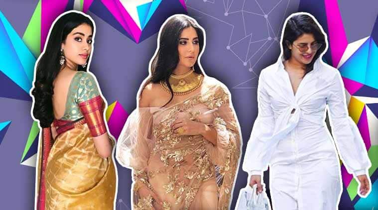 Bollywood fashion, celeb fashion, Priyanka Chopra, Janhvi Kapoor, Khushi Kapoor Alia Bhatt, indian express, indian express news