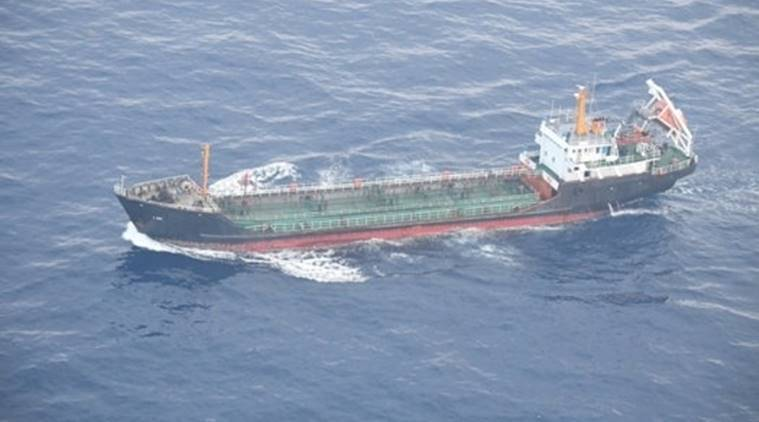 Japan says it has detected apparent Chinese ship breaking N.Korea sanctions
