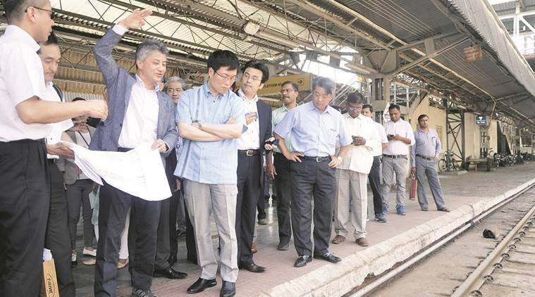 japan minister, Masatoshi Akimoto, indian railways, indian express