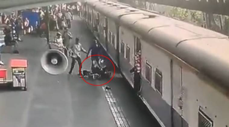 jawan saves child video, Piyush Goyal shares jawan video, Piyush Goyal viral video, jawan saves girl Piyush Goyal compliments, jawan saves girl child from train