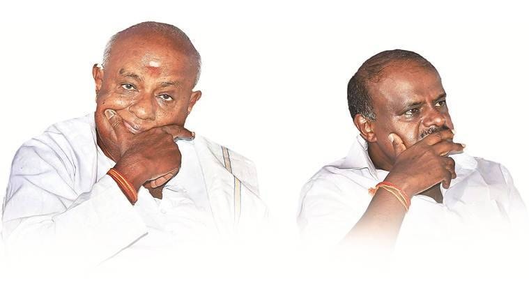 JD(S) patriarch Deve Gowda clarified that his son