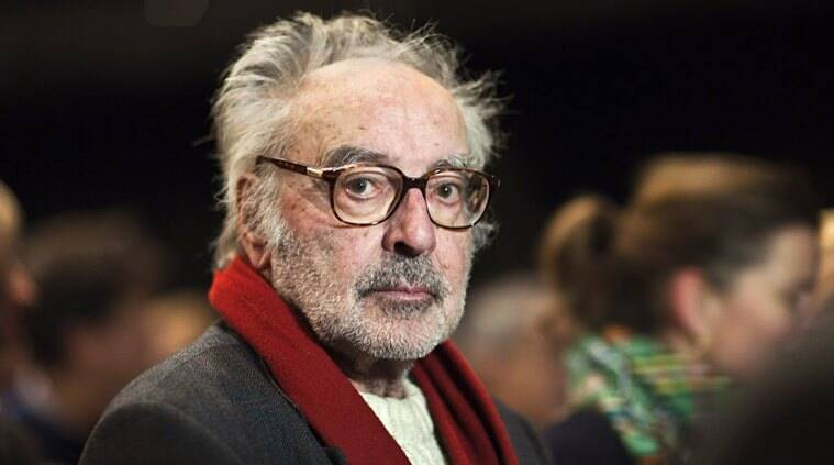Jean-Luc Godard press conference at cannes