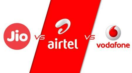 Jio vs Vodafone vs Airtel: Comparing prepaid plans with 3.5GB or more daily 4G data (May2018)
