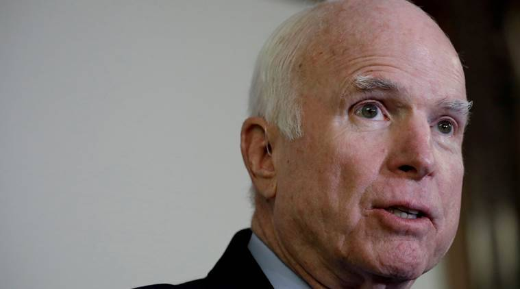 Sen. John McCain decides to cancel medical treatment