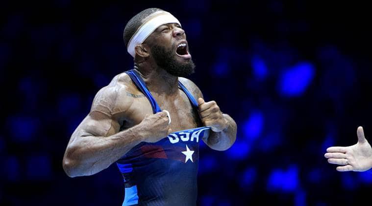 USA's Jordan Burroughs