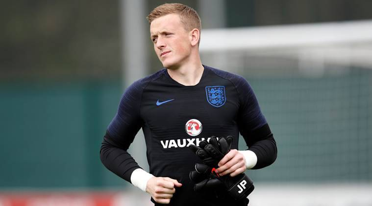 FIFA World Cup 2018, FIFA World Cup 2018 news, FIFA World Cup 2018 updates, England, Jordan Pickford, sports news, football, Indian Express