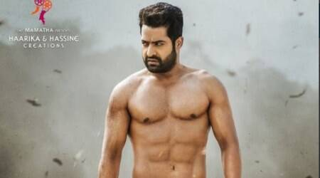 Jr NTR's film with Trivikram titled Aravindha Sametha, first look unveiled