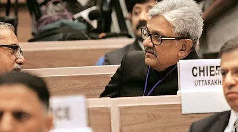 On April 26, the government returned for reconsideration the collegium's recommendation to elevate Justice K M Joseph but notified the appointment of Malhotra as a judge. (Express photo by Neeraj Priyadarshi)
