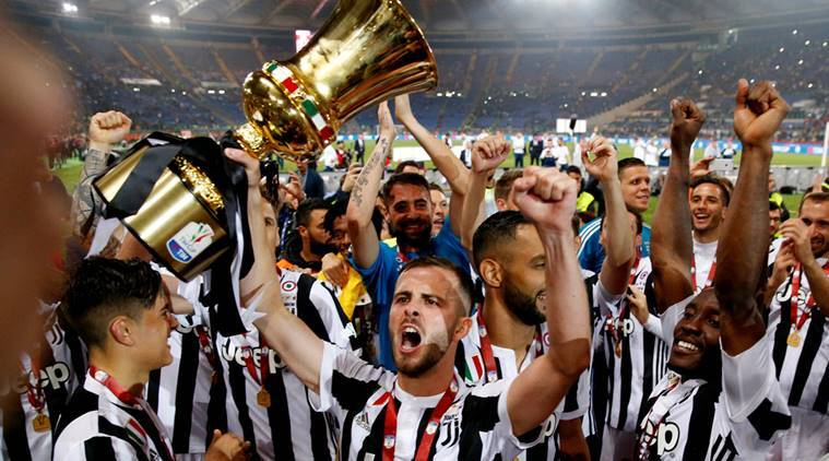 Juventus Rout Ac Milan To Win Coppa Italia For Fourth Straight Season Sports News The Indian Express